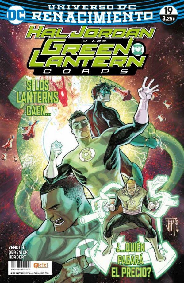 Green Lantern núm. 19 (Renacimiento)