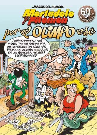 MAGOS HUMOR 190: POR EL OLIMPO ESE (MORTADELO Y FILEMON)