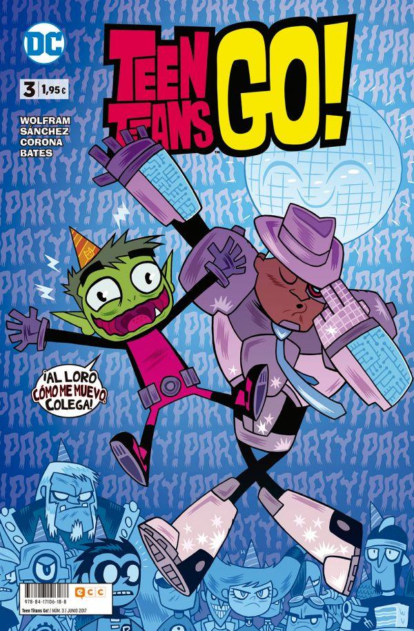 Teen Titans Go! núm. 03
