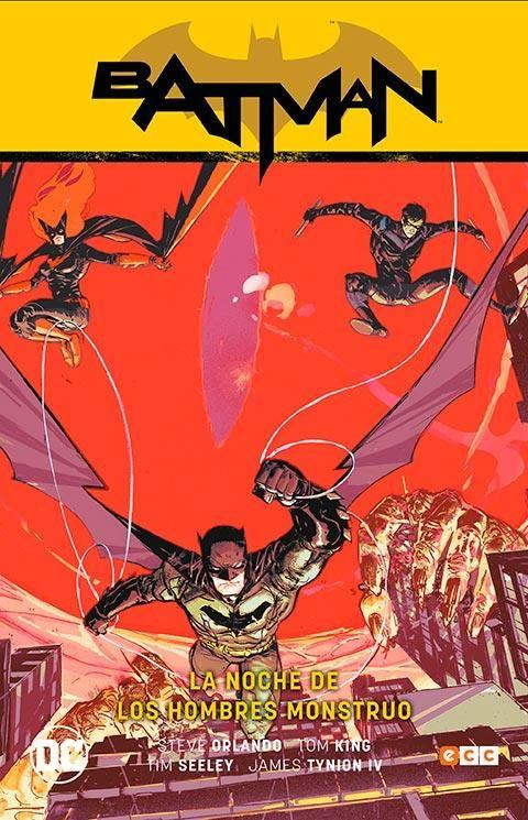 BATMAN 02: LA NOCHE DE LOS HOMBRES MONSTRUO