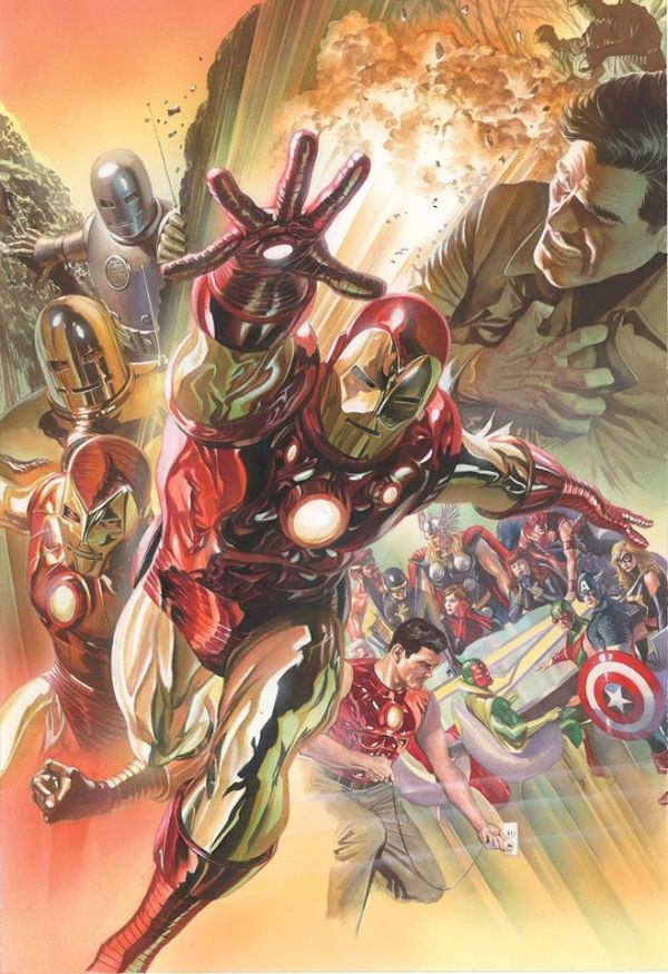 IRON MAN  POR ALEX ROSS