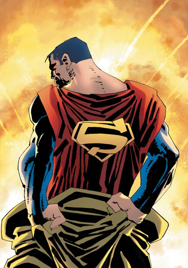 SUPERMAN YEAR ONE #1  MILLER COVER