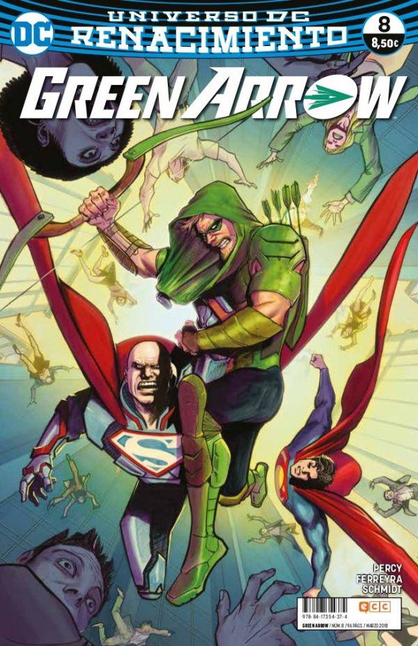 Green Arrow núm. 08 (Renacimiento)