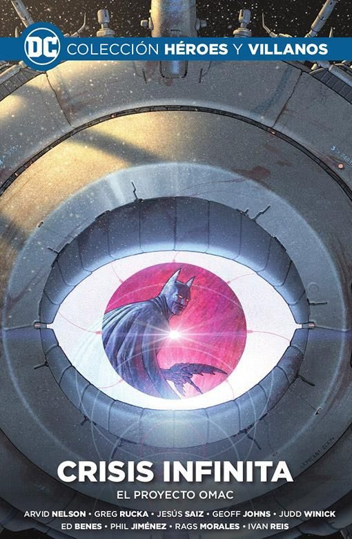Colección Héroes y villanos vol. 12 - Crisis infinita: El proyecto OMAC