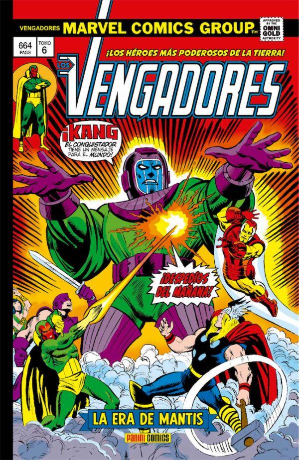 OMNIGOLD LOS VENGADORES 06: LA ERA DE MANTIS