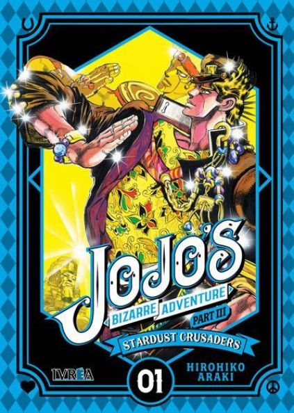 JOJO'S BIZARRE ADVENTURE. PART III : STARDUST CRUSADERS 01