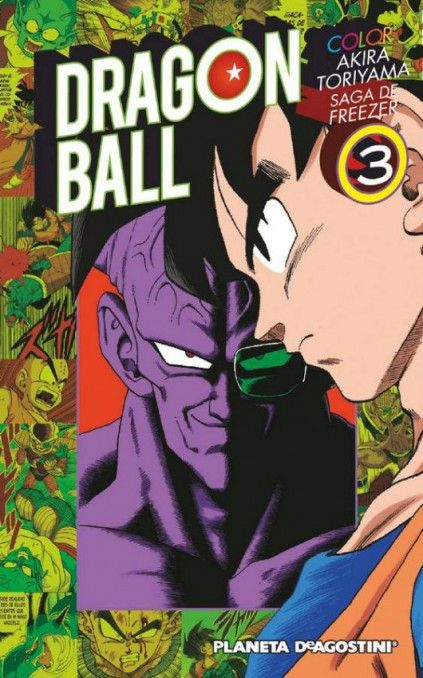 DRAGON BALL COLOR. SAGA DE FREEZER 03