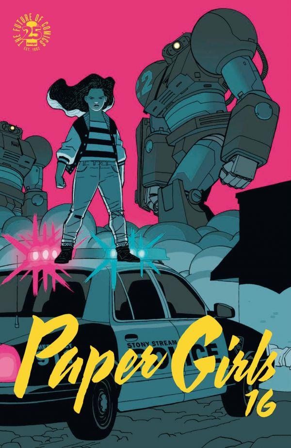 PAPER GIRLS 16 (GRAPA)