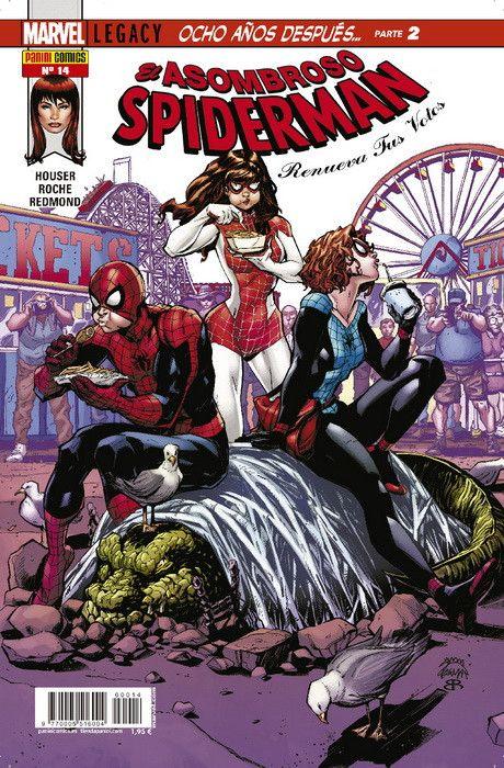 El Asombroso Spiderman: Renueva Tus Votos  14