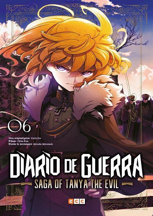 Diario de guerra - Saga of Tanya the evil 06