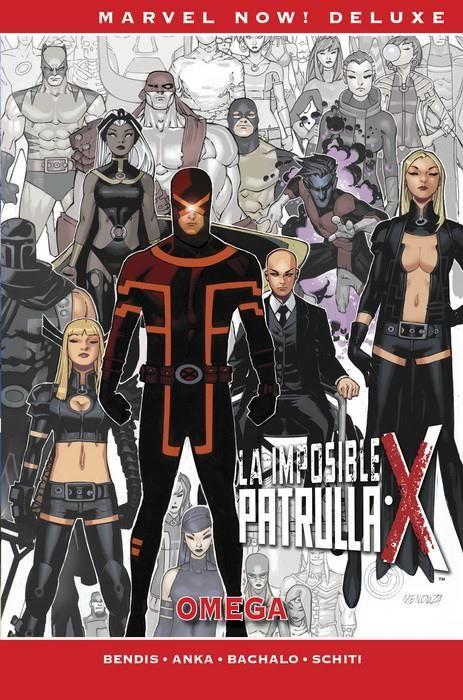 Marvel Now! Deluxe. La Patrulla-X de Bendis 07