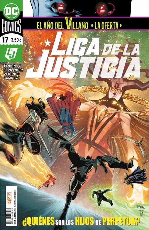 LIGA DE LA JUSTICIA 17