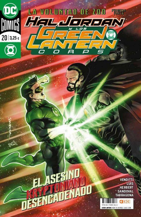 Green Lantern núm. 20 (Renacimiento)