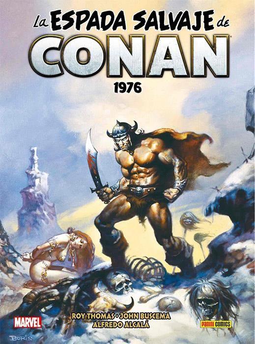 La Espada Salvaje de Conan Magazine 02. 1976 (Marvel Omnibus)