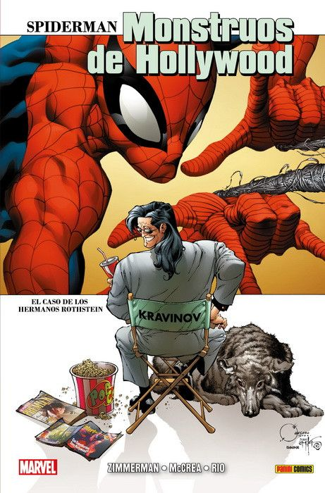 100% Marvel HC. Spiderman: Monstruos de Hollywood