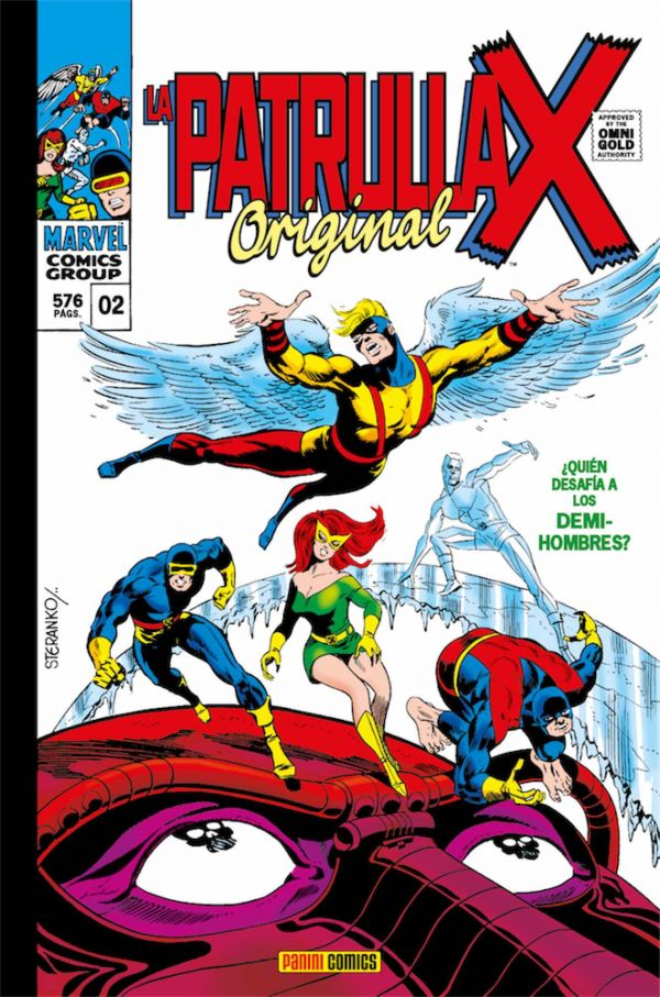 LA PATRULLA-X ORIGINAL 02 (MARVEL GOLD)