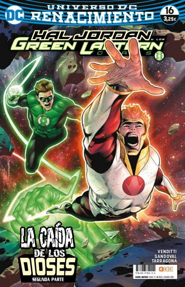 Green Lantern núm. 16 (Renacimiento)