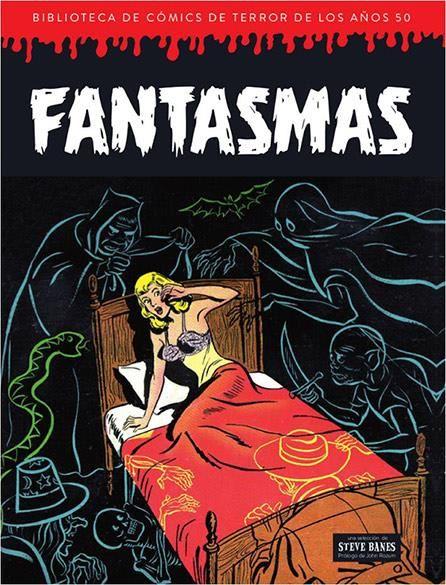Fantasmas. Biblioteca de cómics de terror de los años 50 Vol. 6