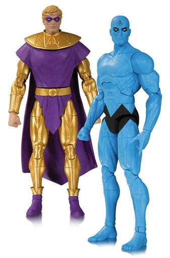 Watchmen: DC Collectibles Action Figures - DR.MANHATTAN and OZYMANDIAS doomsday clok 2 pack 01