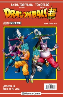 DRAGON BALL SUPER. SERIE ROJA 05