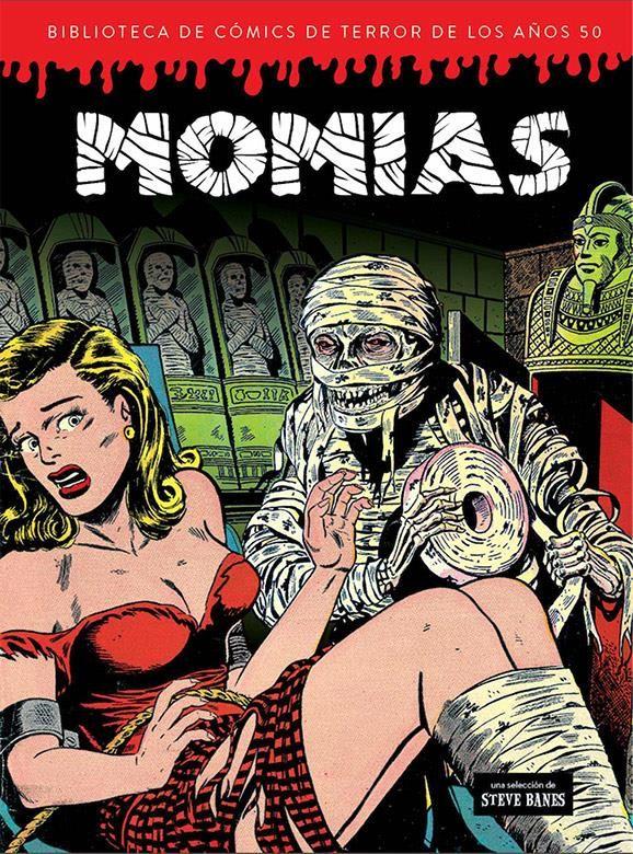 Momias. Biblioteca de cómics de terror de los años 50 Vol. 4