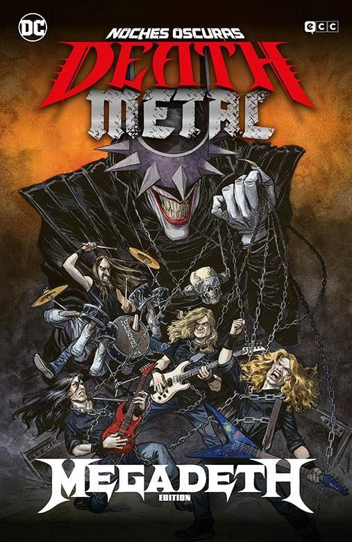 Noches oscuras: Death Metal 01 de 7 (Megadeth Band Edition) (Cartoné)