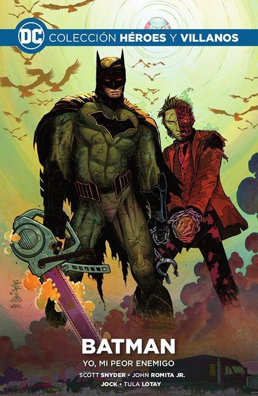 Colección Héroes y villanos vol. 08 - Batman: Yo, mi peor enemigo