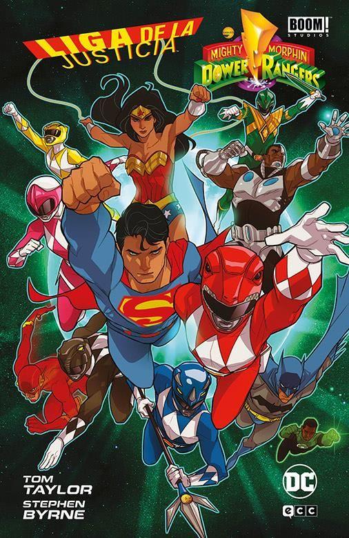 Liga de la Justicia / Power Rangers