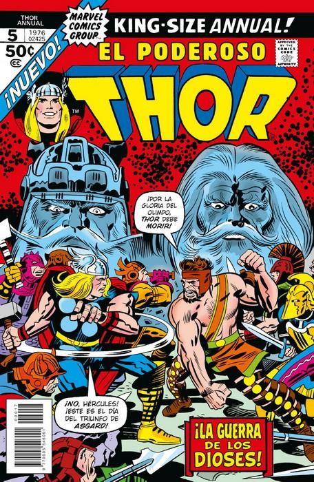 Marvel Facsímil. Thor Annual 5