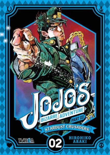 JOJO'S BIZARRE ADVENTURE. PART III : STARDUST CRUSADERS 02