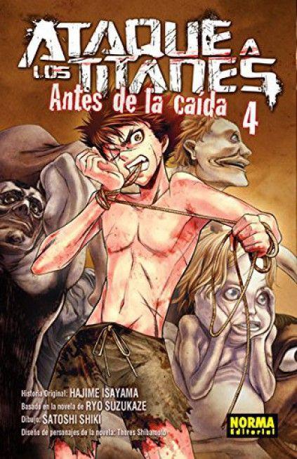 ATAQUE A LOS TITANES. ANTES DE LA CAÍDA 04