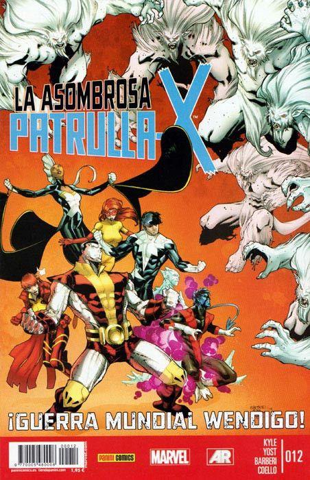 LA ASOMBROSA PATRULLA-X 12