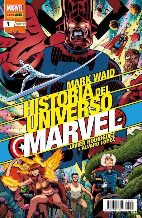 Historia del Universo Marvel. Edición normal  (SERIE COMPLETA)