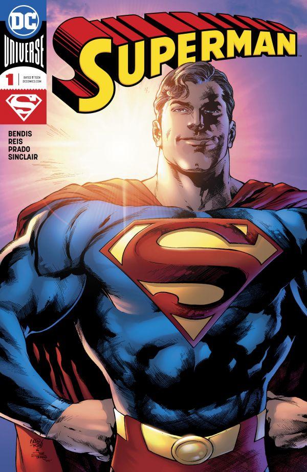 SUPERMAN #1 (FIRMADO POR BENDIS, CERTIFICADO DE AUTENTICIDAD)
