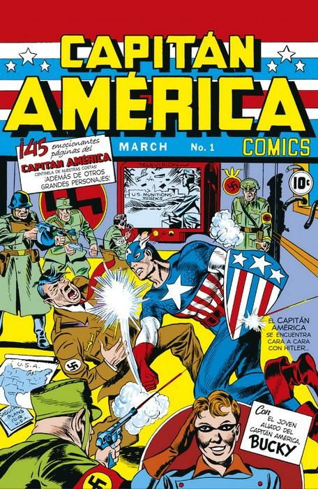 Marvel Facsímil. Captain America Comics 1