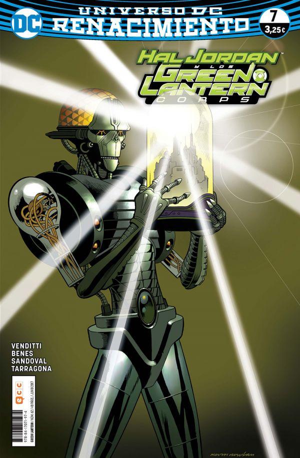 Green Lantern núm. 07 (Renacimiento)