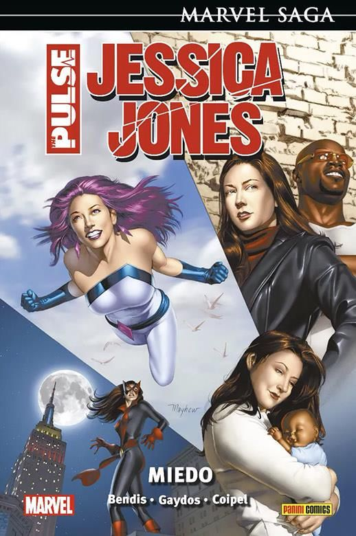 Marvel Saga. Jessica Jones The Pulse 3. Miedo
