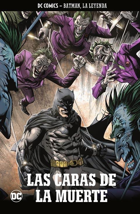 Batman, la leyenda núm. 06: Batman: Las caras de la muerte