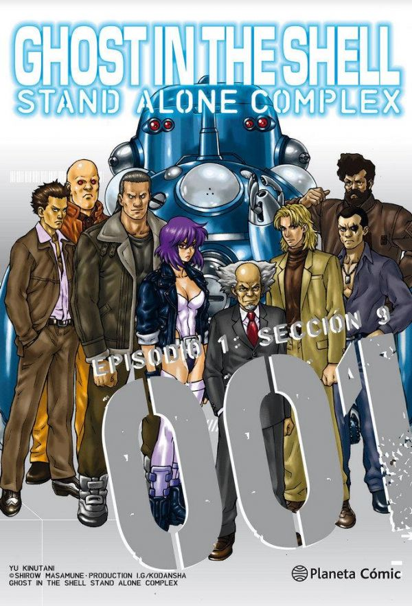 GHOST IN THE SHELL. STAND ALONE COMPLEX 01