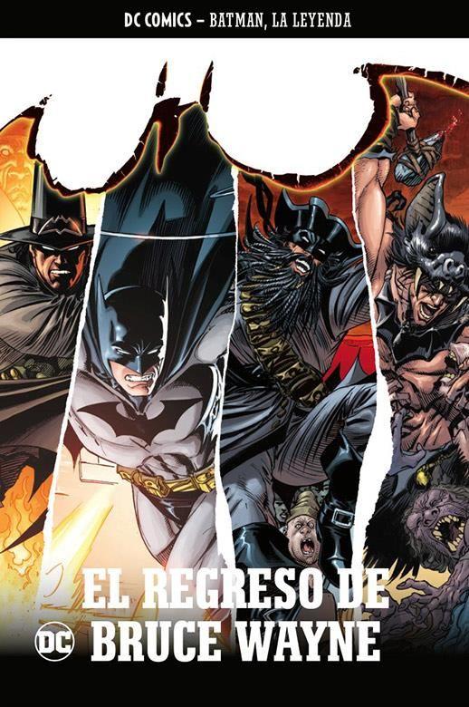 Batman, la leyenda 32: El regreso de Bruce Wayne
