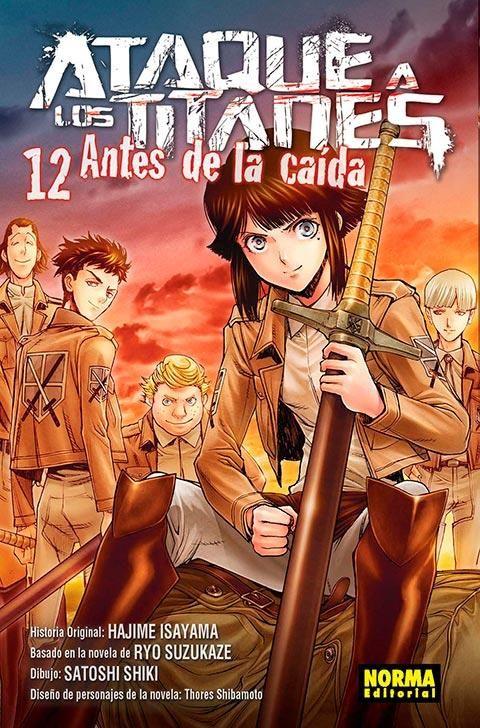 ATAQUE A LOS TITANES. ANTES DE LA CAÍDA 12