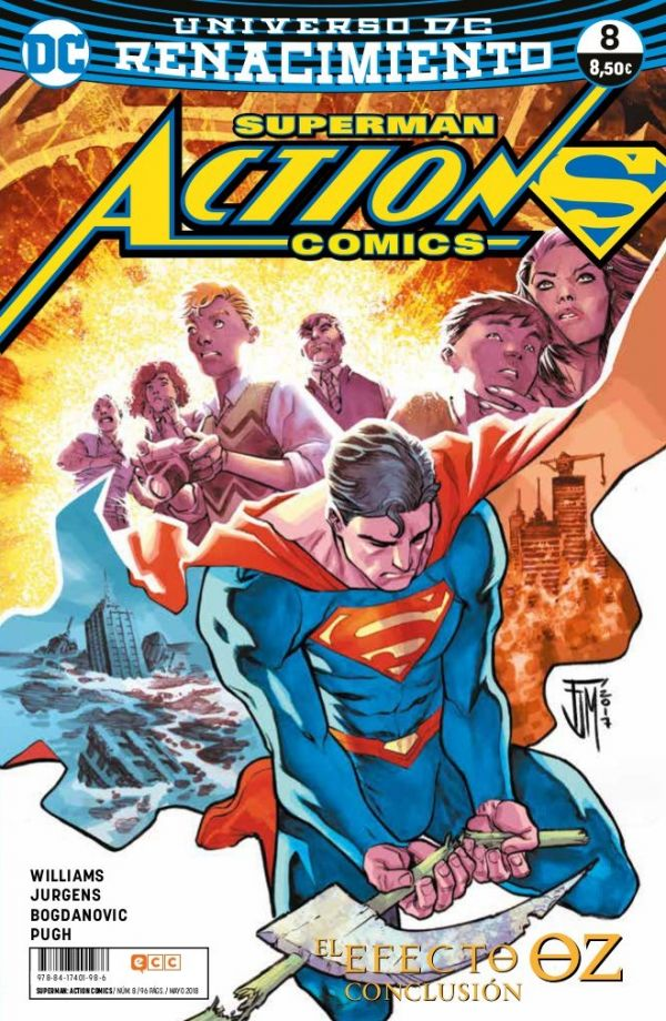 Superman: Action Comics núm. 08 (Renacimiento)
