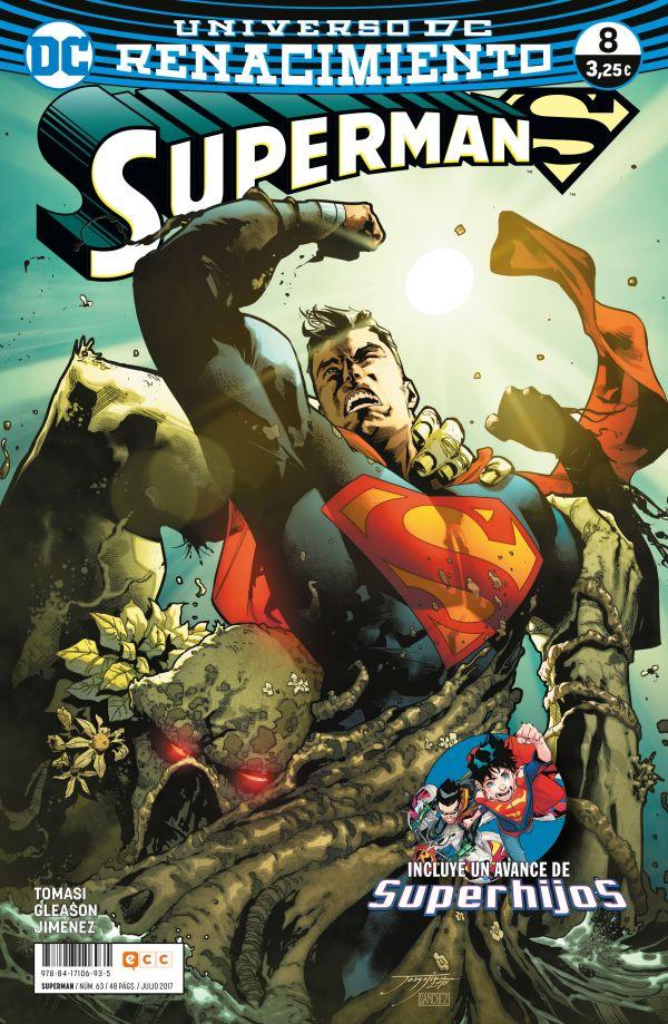 Superman núm. 08 (Renacimiento)