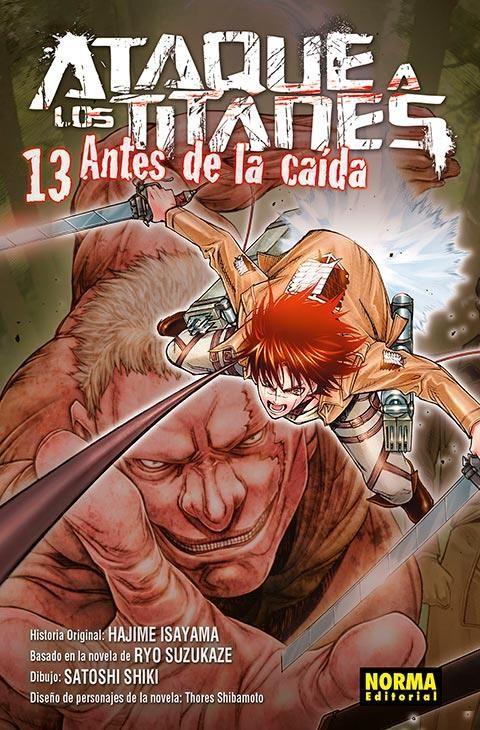 ATAQUE A LOS TITANES. ANTES DE LA CAÍDA 13