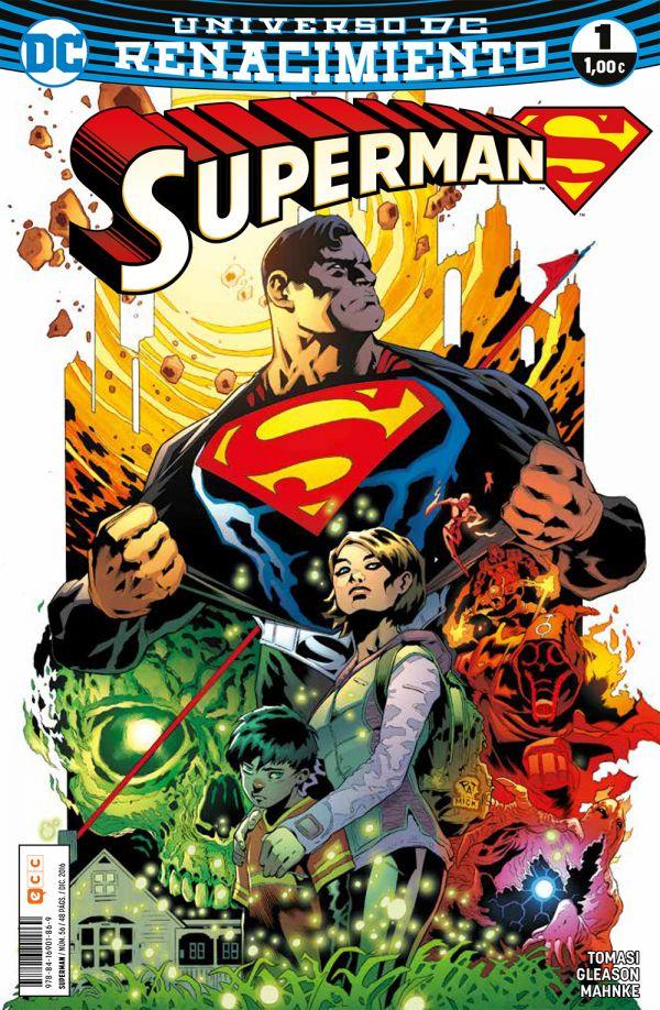 Superman núm. 01 (Renacimiento)