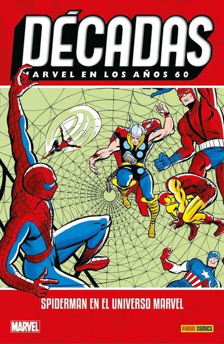 Décadas. Marvel en los años 60. Spiderman en el universo Marvel
