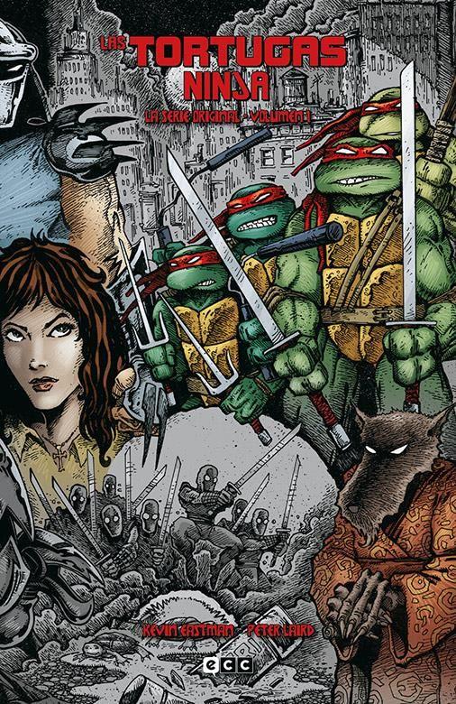 Las Tortugas Ninja: La serie original vol. 01 (de 6)
