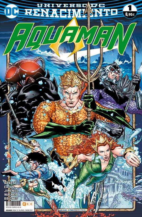 Aquaman núm. 01 (Renacimiento)