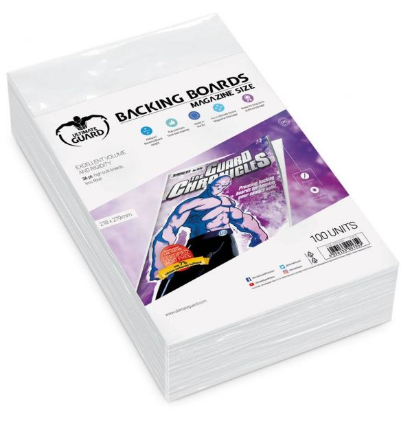 Backing Boards tamaño Magazine (100 unidades)