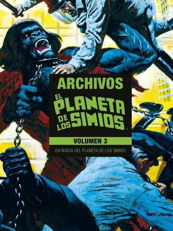 EL PLANETA DE LOS SIMIOS. ARCHIVOS VOL.03 (LIMITED EDITION)